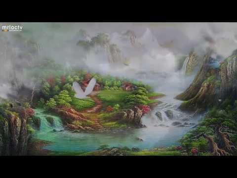 Bức tranh sơn thủy - châm ngôn cuộc sống của mình