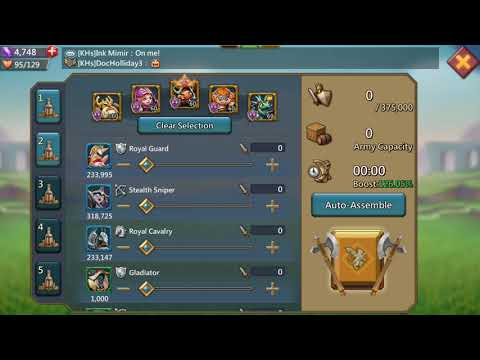 Garrison Trap- The Fake Fight For Gem Lodes