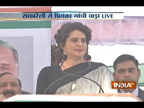UP doesn't Need an Adopted Son for Development, Priyanka Gandhi Slams Modi in Rae Bareli