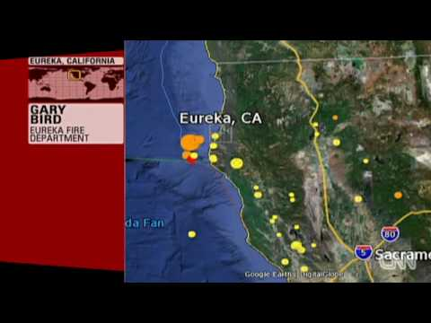 eureka earthquake northern California 2010 humboldt earthquake
