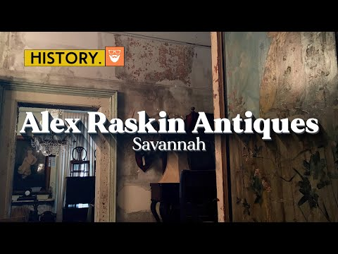 Abandoned Civil War mansion packed with antiques | Alex Raskin Antiques , Savannah