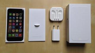 Apple iPhone 6 (spacegrey) Unboxing/Kicsomagolás HUN