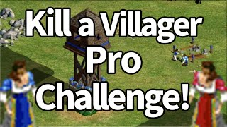 Pro Player Challenge Kill One Villager