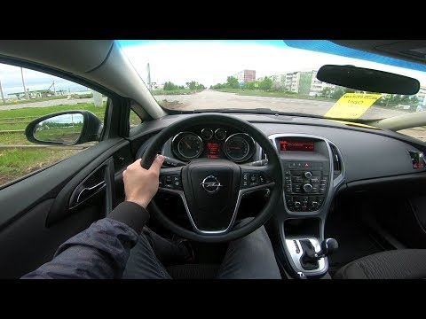 2013 Opel Astra 1.4 Turbo 140 POV Test Drive