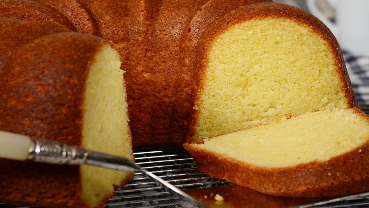 Cream Cheese Pound Cake Recipe Demonstration Joyofbaking
