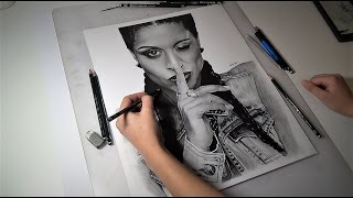 Drawing Lilly Singh - Artbyoums