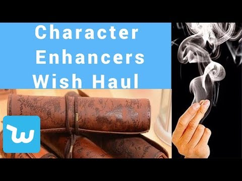 WISH Haul and Review: Character Enhancers for LARP, Medieval or Renaissance faires
