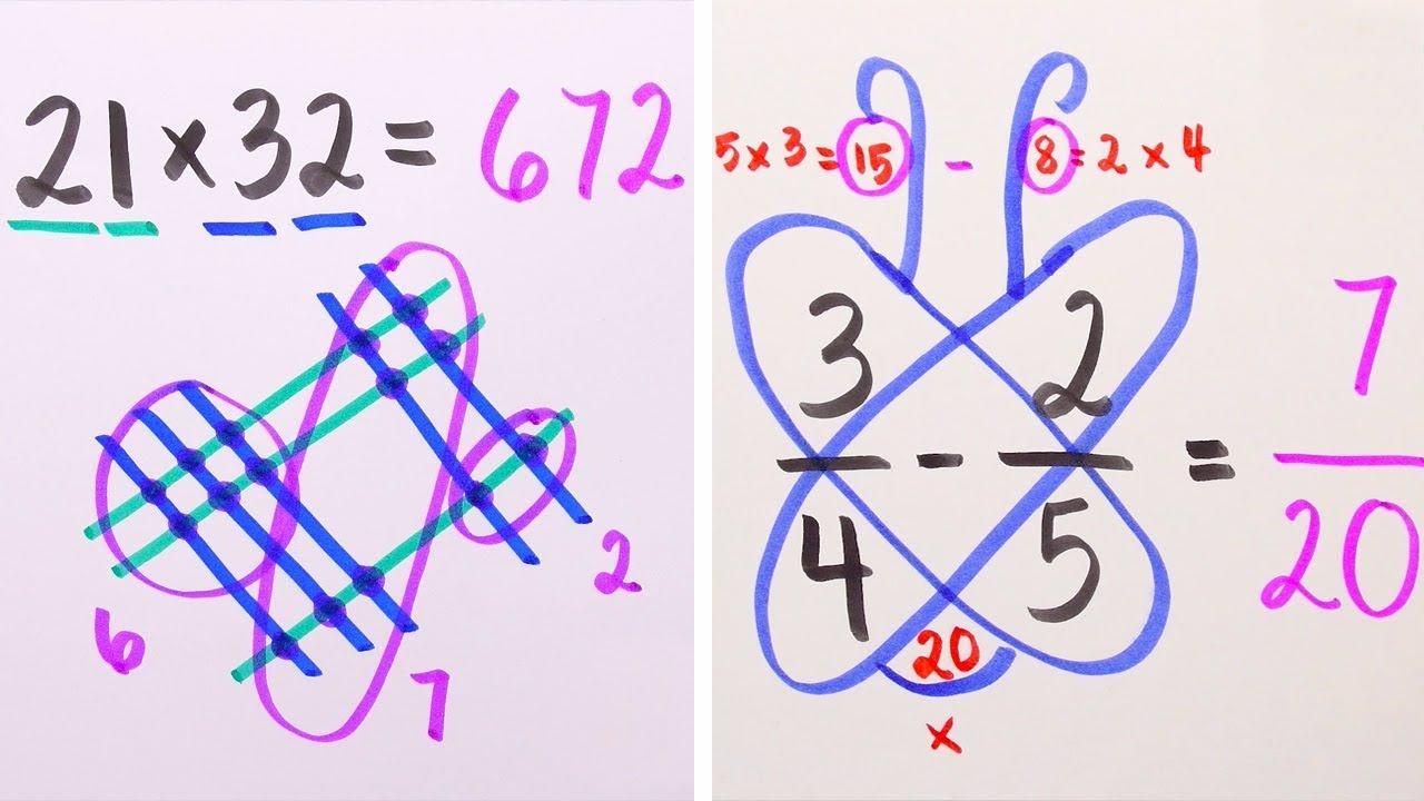 Несекојдневни начини на кои може да ги решите математичките проблеми