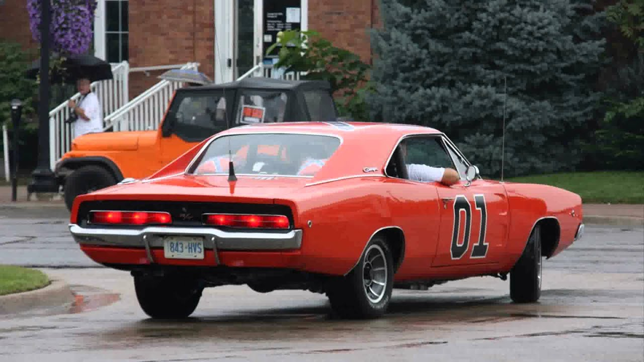 1969 dodge charger rt general lee - YouTube