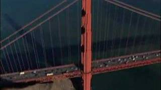 Aerial Golden Gate Bridge San Francisco, California, USA