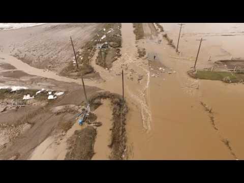 Crazy Flooding in Minidoka County Idaho 2017