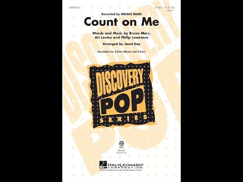 Count On Me 2Part  Arranged  Janet Day