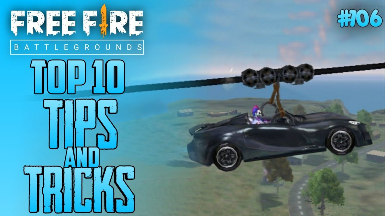Top 10 New Tricks In Free Fire | New Bug/Glitches In Garena Free Fire #106