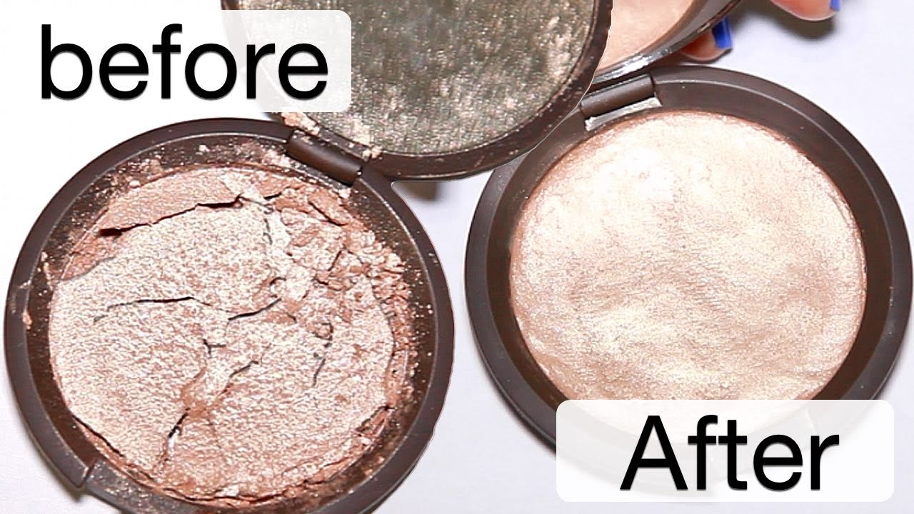 How to fix broken powder makeup with alcohol in four simple steps - How To Fix Broken Powder Makeup With Alcohol In Four Simple Steps 16