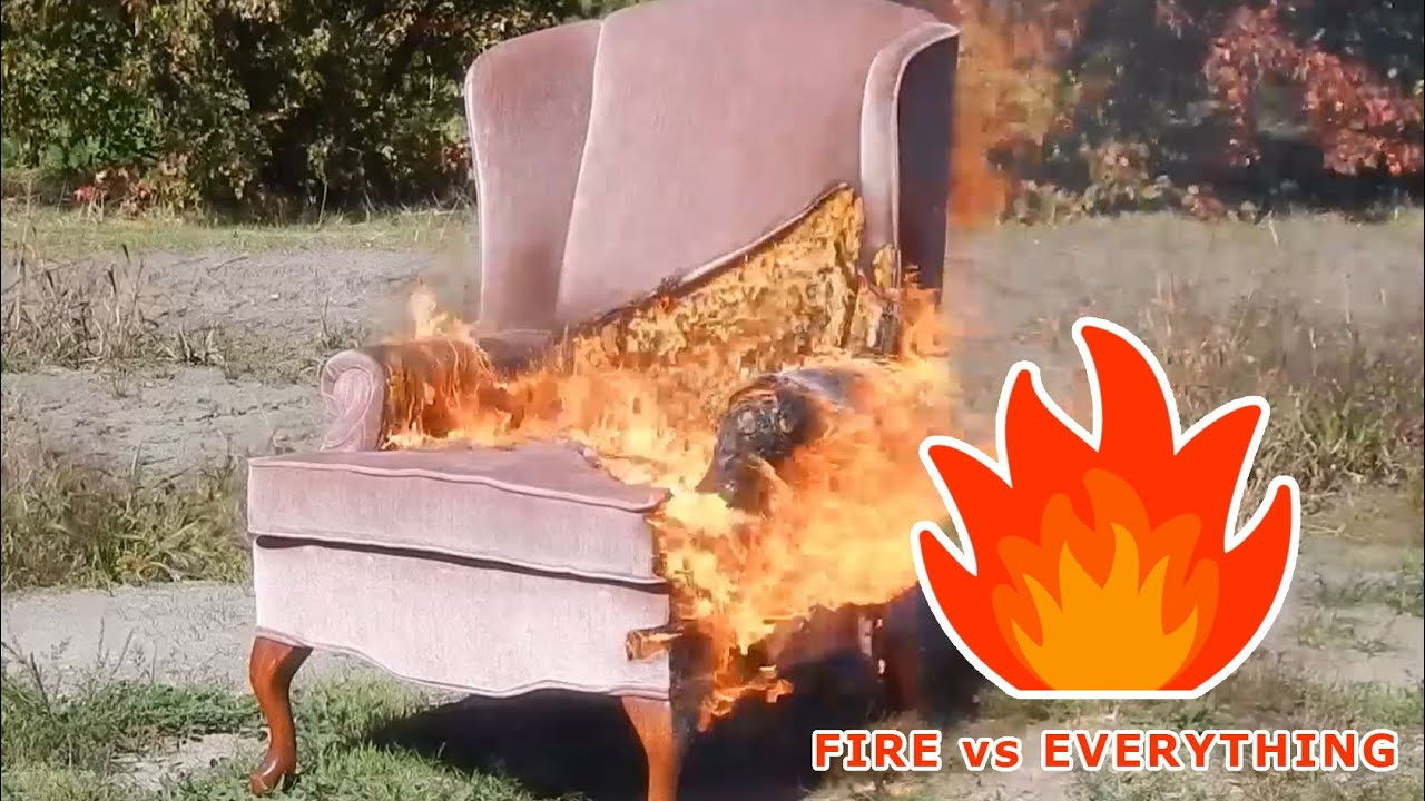 wheelchair on fire chair cover hire asian vs youtube
