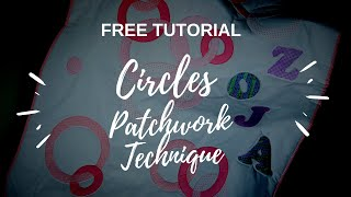 Circles Patchwork Tutorial from Csoki-Folt patchwork templates