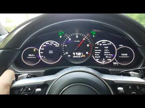 Porsche Panamera Launch Control 0-200 Km/h 4S Diesel