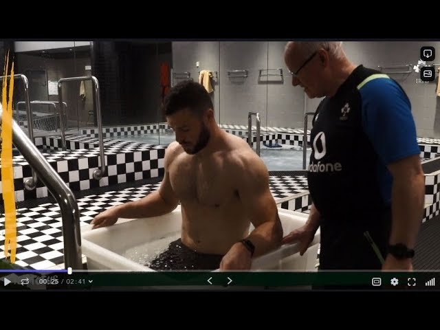 Ireland Down Under: Player Recovery Session In Melbourne