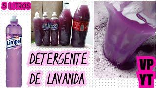 Detergente de Lavanda com 150 ml de Óleo – Deixa Brilho no Alumínio e Desengordura