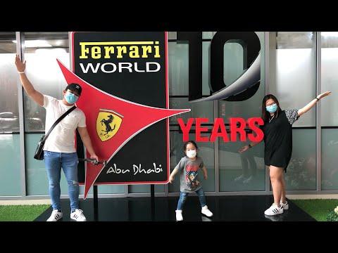 Ferrari World Abu Dhabi August 2020