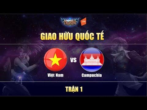 Việt Nam Vs Campuchia Trận 1 - Giao Hữu Quốc Tế | Mobile Legends Bang Bang Việt Nam thumbnail