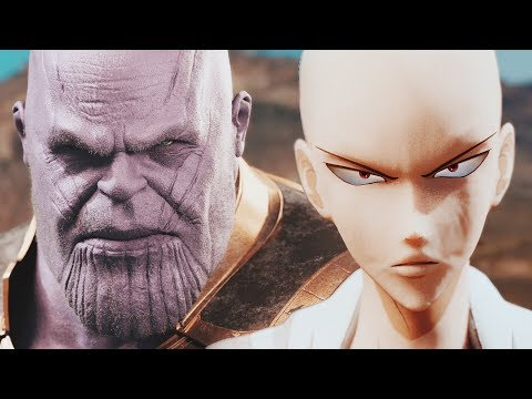 THANOS Vs. SAITAMA - Full Fight (EPIC BATTLE!) | One Punch Man Vs. The Mad Titan
