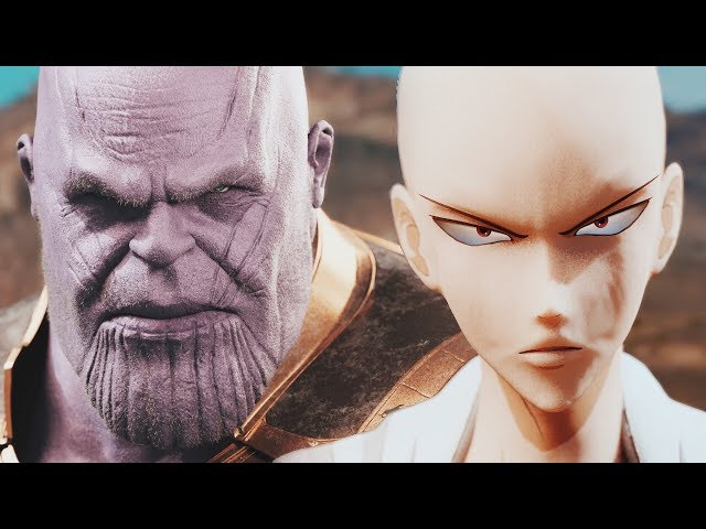 THANOS vs. SAITAMA - Full Fight (EPIC BATTLE!) | One Punch Man vs. The Mad Titan