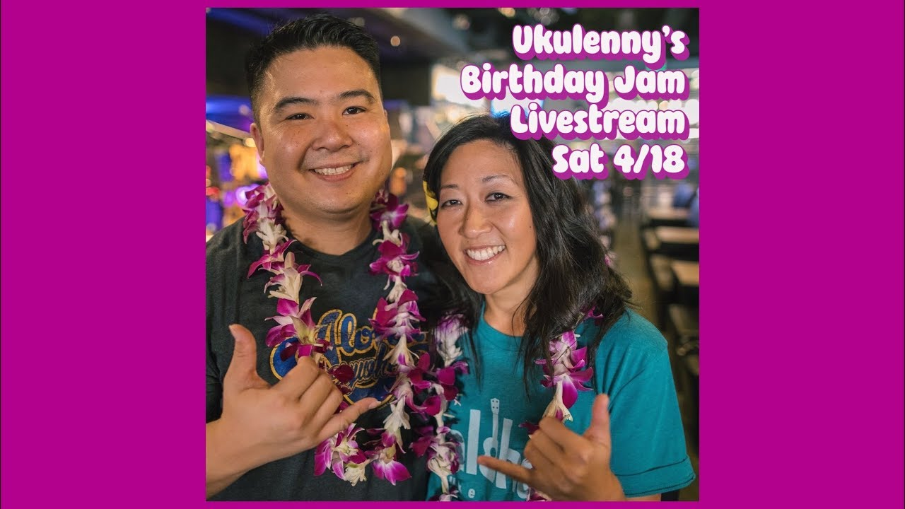 Cynthia Lin Christmas Jam 2020 Youtube Ukulenny's Birthday Jam Livestream 🎉 #stayhome #playuke   YouTube