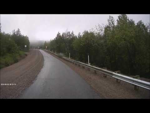 DASH CAM  Manic-5 Route 389 QUEBEC