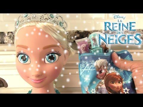 Reine des neiges Elsa Trousse de beauté de la poupée géante Frozen Beauty Makeup Kit
