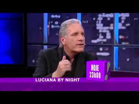 Gimenez Joga Ping Pong Com Roberto Justus No 'Luciana By Night' - Luciana Bynight 01/04/2014