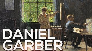 Daniel Garber: A collection of 84 paintings (HD)