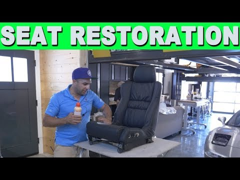 How To Correctly Repair Remove & Replace Car Leather Seats – Acura NSX