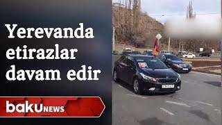 Yerevanda avtoyürüş: Saxlanılanlar var
