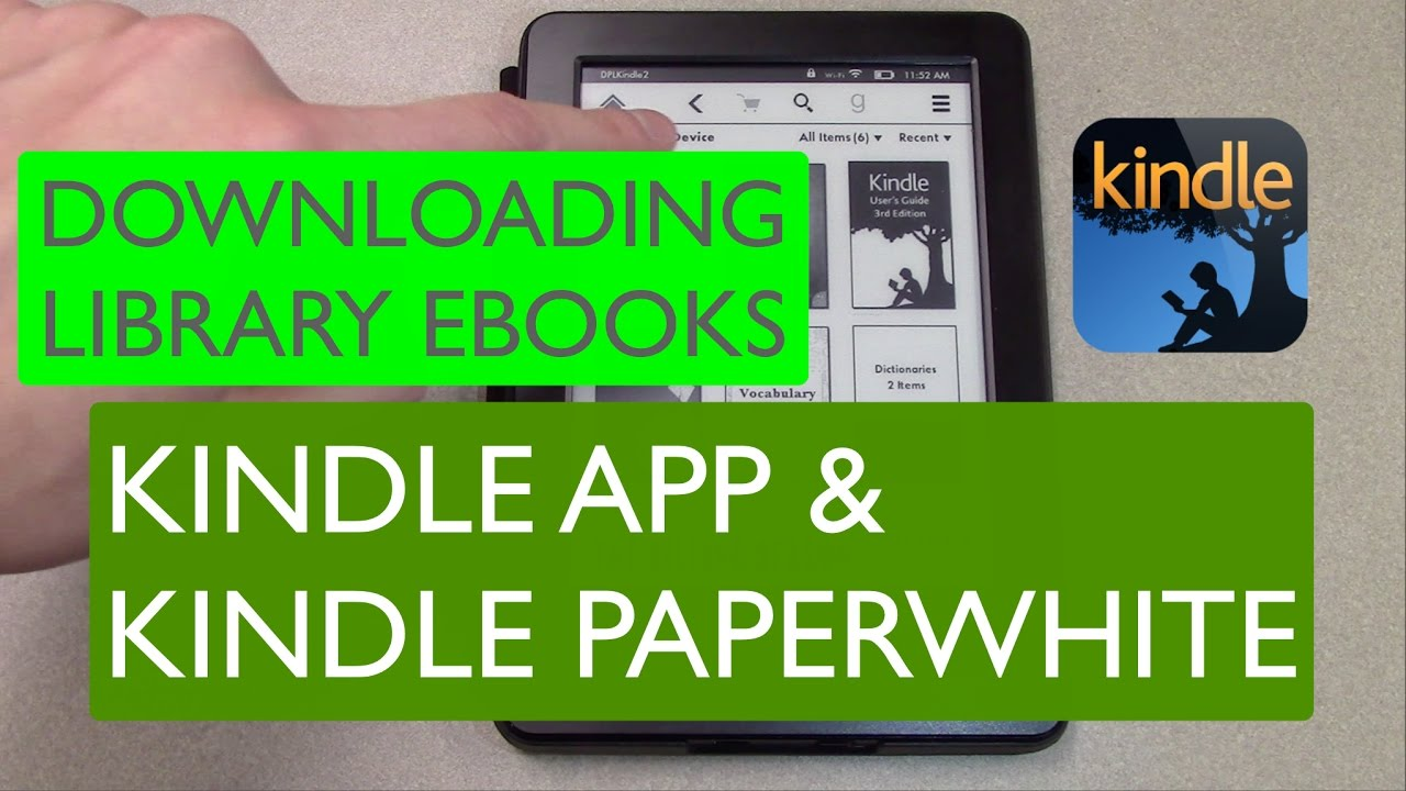 Downloading Library eBooks to your Kindle - Deerfield Library eTutor