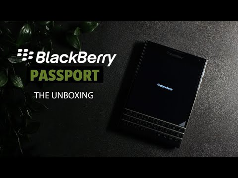 BlackBerry Passport - The Unboxing from YouTube · Duration:  2 minutes 49 seconds