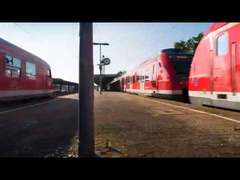 Zeitraffer Shorties: Bahnhof Esslingen 02 [HD]