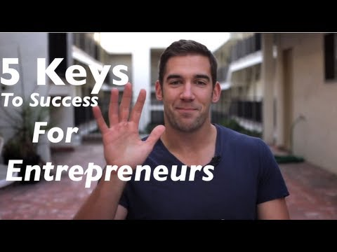 Key to Success and The 5 Fears That Hold Entrepreneurs Back