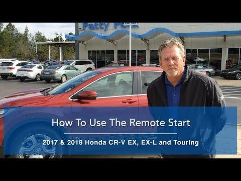 2018 Honda CR-V Remote Engine Start - How It Works