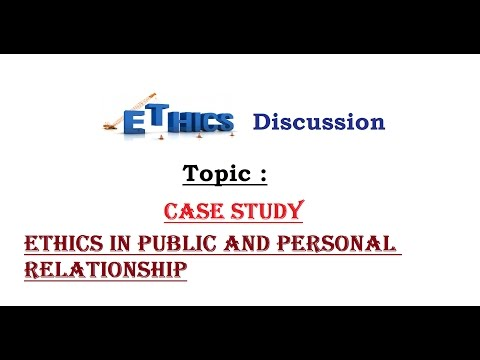 Ethics Case Study for IAS (Ethics in public and personal relationship) , L- C/3