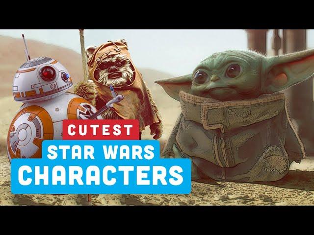 Seus personagens mais fofos de Star Wars - Ranking de poder + vídeo