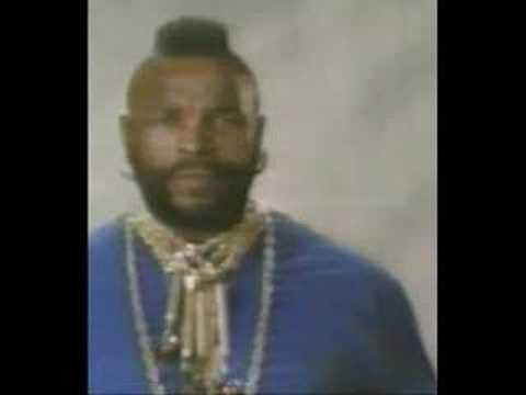 "Mr. T Stops Saying ""I Pity The Fool"""