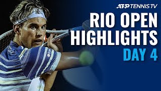 Thiem, Coric go the distance; Mager and Sonego advance | Rio 2020 Day 4 Highlights