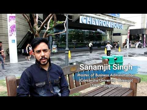 LSBF Singapore | CUC-MBA | Sunny