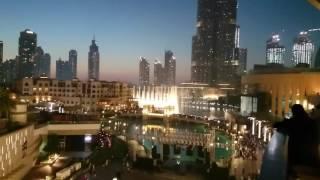 UAE National Anthem Dubai fountain