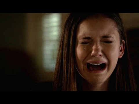 The Vampire Diaries: Elena breaks down and turns off her humanity (4x15) [HD]