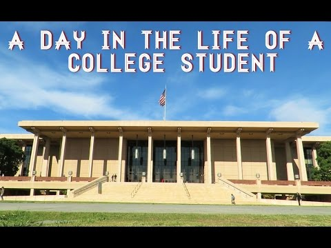 A Day in the Life of a College Student // CSUN EDITION
