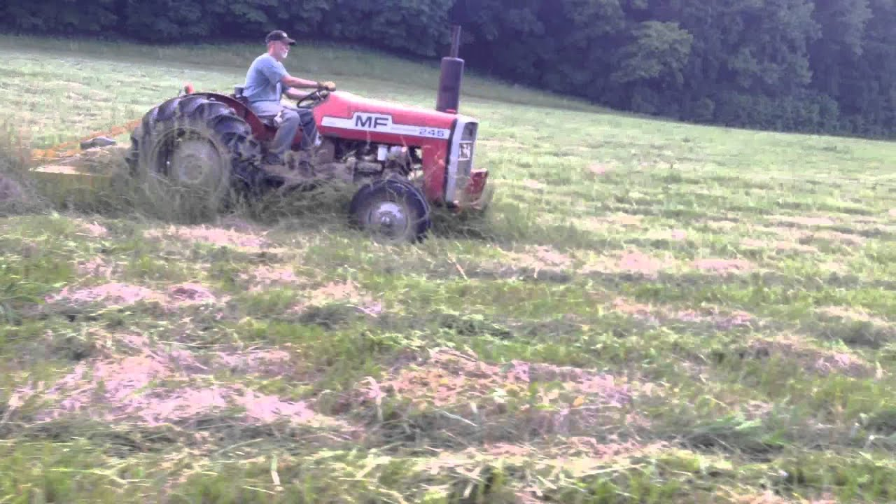 County Line 6 Bush Hog Tractor Supply Youtube