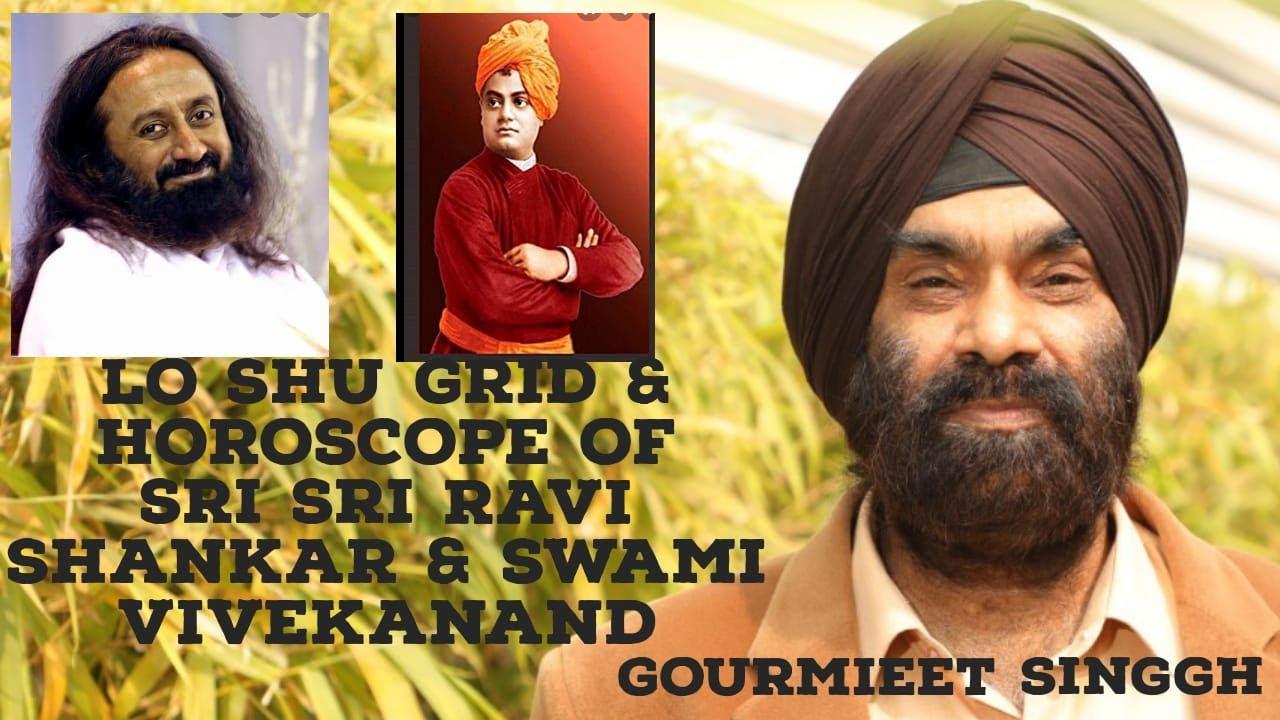 Sri Sri Ravi Shankar   Swami Vivekanand   Lo Shu Grid and Horoscope