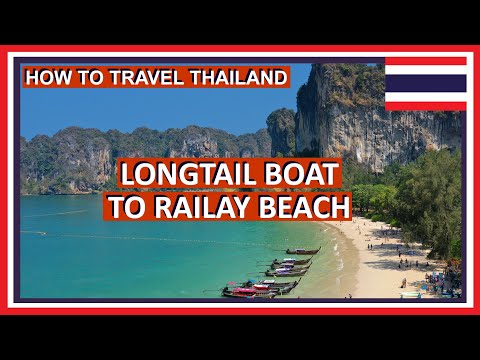 How to Get to Railay Beach from Krabi Ao Nang - Thailand Travel Guide
